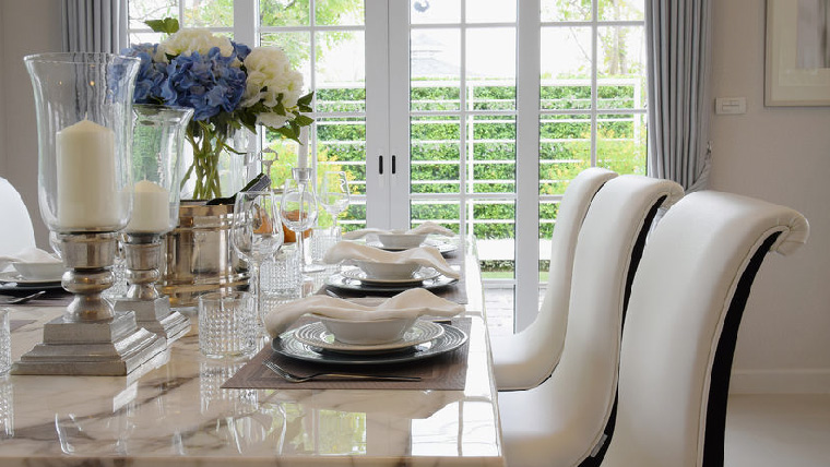 Call Sweep Away to keep your dining room clean on a regular basis today.