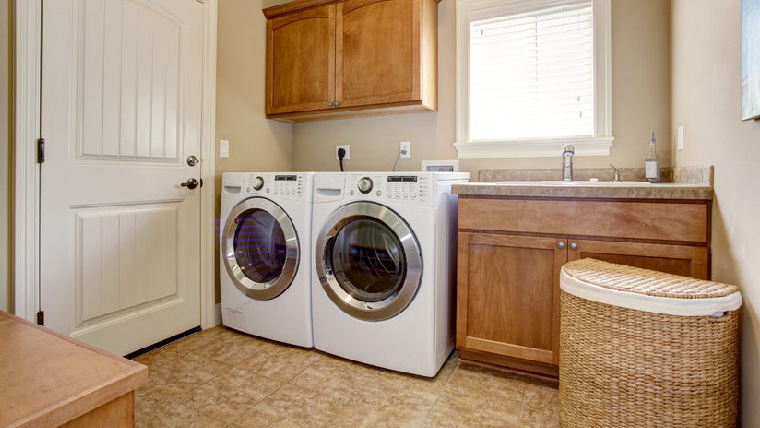 Call Sweep Away to thoroughly clean your home's laundry room today.